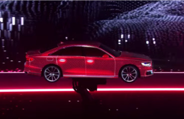 Audi + KUKA – Projection Mapping with Robots is Visually Stunning
