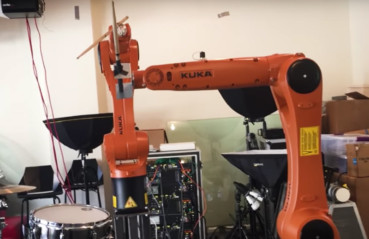 Automatica – Robot Drummer Tests